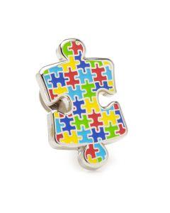Autism Awareness Puzzle Lapel Pin