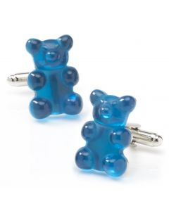 Blue Gummy Bear Cufflinks