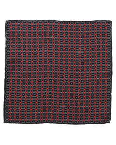 Intertwined Hearts Pocket Square