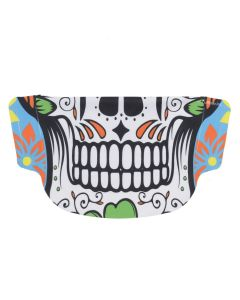 Day of the Dead Floral Face Mask
