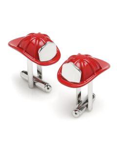 3D Fireman Hat Cufflinks