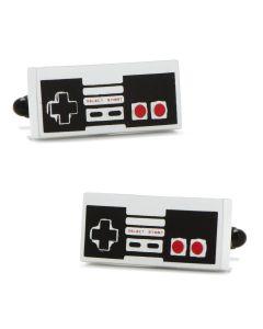3D Vintage Game Controller Cufflinks