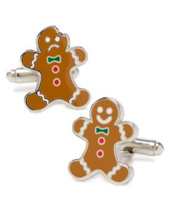 Gingerbread Cufflinks