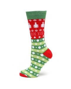 Holiday Tree Sock