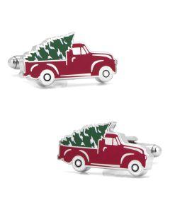 Holiday Truck Cufflinks
