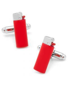 Red Lighter Cufflinks