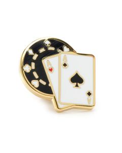 Poker Lapel Pin
