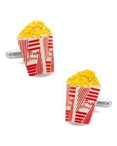 3D Popcorn Cufflinks