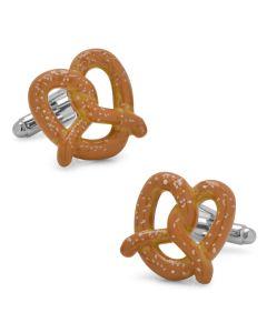 3D Pretzel Cufflinks