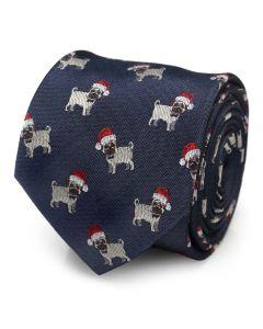 Santa Pug Men's Tie