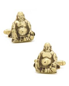 Smiling Buddha Cufflinks