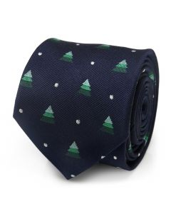 Holiday Tree Men's Tie