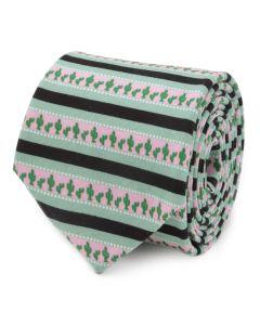 Texas Cactus Stripe Sage Men's Tie
