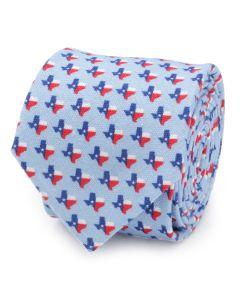 Texas State Blue Men's Tie
