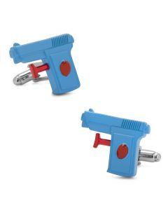 3D Watergun Cufflinks