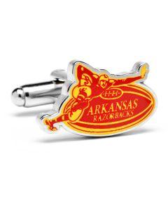 Vintage Arkansas Razorback Cufflinks