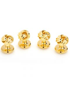 Gold Knot Studs
