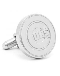 Silver Edition Cubs Cufflinks