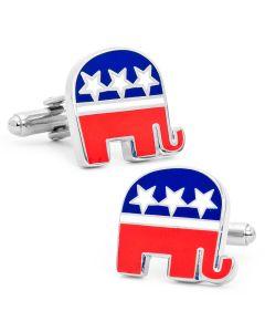 Republican Elephant Cufflinks