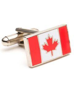 Canadian Flag Cufflinks
