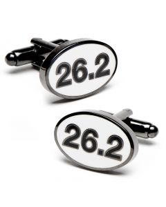 Marathon Finisher Cufflinks