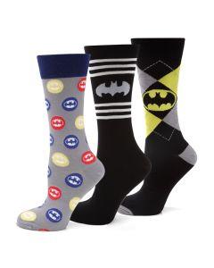 Batman 3 Pack Sock Gift Set