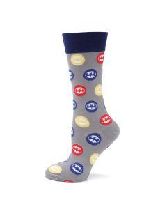 Batman Dot Sock