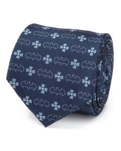 Batman Floral Navy Men's Tie
