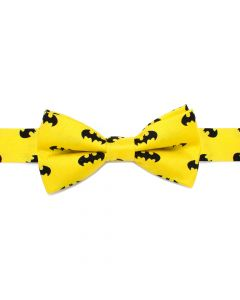 Batman Yellow Boys' Silk Bow Tie