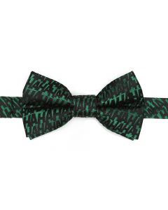 Joker Ha Ha Green Boy's Bow Tie