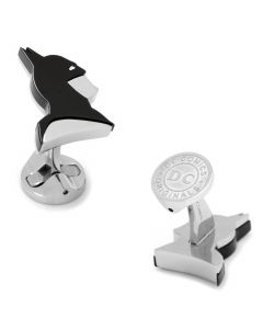 Stainless Steel Batman Profile Cufflinks