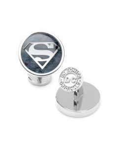 Superman Navy Gemstone Cufflinks
