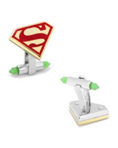 High End Luxury Superman Icon Cufflinks