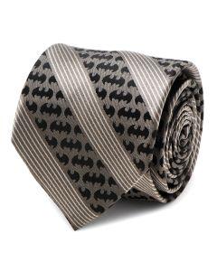 Batman Black Pinstripe Tie