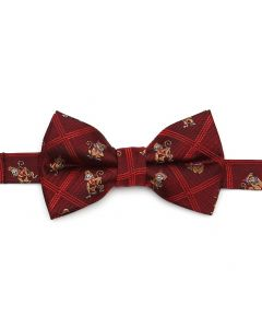 Abu Scattered Red Big Boy's Bow Tie