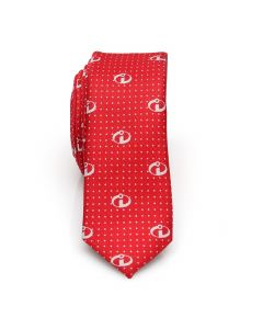The Incredibles Red Dot Men's Skinny Tie