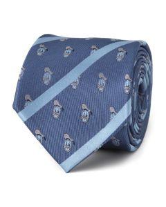 Donald Duck Stripe Blue Men's Tie