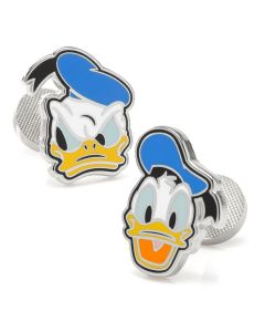 Donald Duck Two Faces Cufflinks