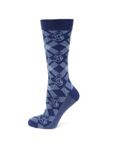 Donald Duck Plaid Men's Socks