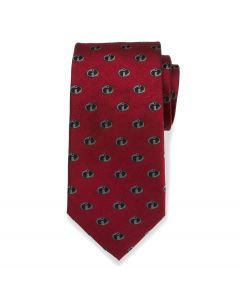 The Incredibles Logo Red Men's Tie