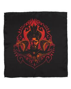 Jafar Ombre Black Pocket Square