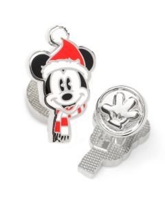 Mickey Mouse Holiday Hat Cufflinks