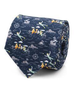 Peter Pan Flying Blue Men's Tie
