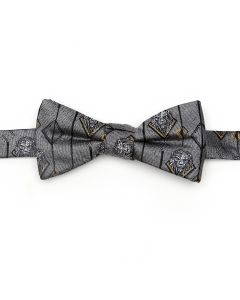 Scar Gray Men's Bow Tie