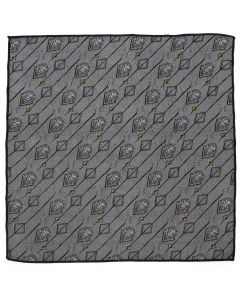 Scar Gray Pocket Square