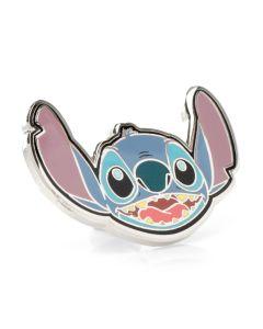 Stitch Happy Face Lapel Pin