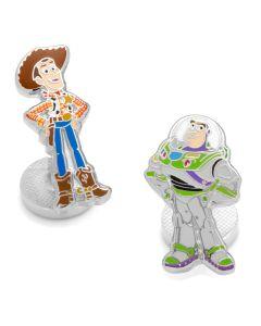 Woody and Buzz Lightyear Cufflinks