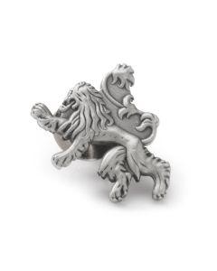 Lannister Lion Antiqued Lapel Pin