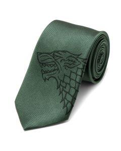 Stark Direwolf Green Men's Tie