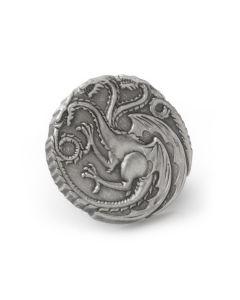 Targaryen Dragon Antiqued Lapel Pin
